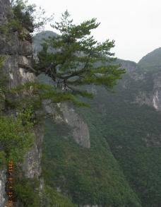 龙缸国家地质公园迎客图片