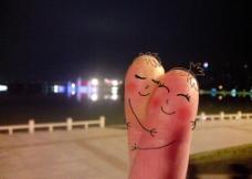 指尖的爱情图片
