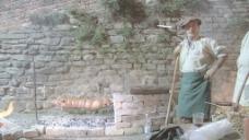 意大利节日烤猪股票视频