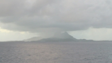 波拉波拉岛雨在股票的录像