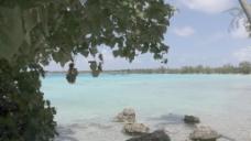伊罗蓝绿色泻湖股票视频