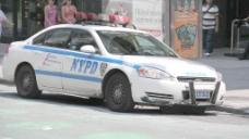 纽约市警察局的汽车2股份的录像 视频免费下载