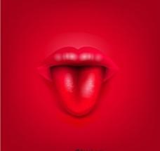 吐舌头图片