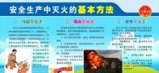 安全生产灭火的方法图片