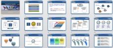 色彩商务PPT模板