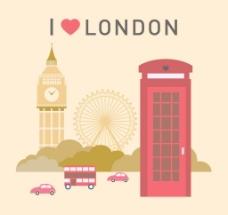 伦敦地标设计图片