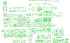 CAD平立面总图库图片