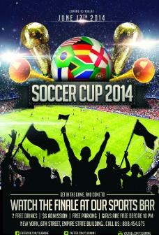 2014巴西世界杯海报图片