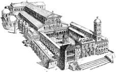 古代建筑简笔画