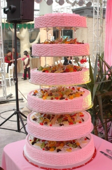 婚礼用蛋糕图片