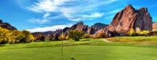 美丽的高尔夫球场图片