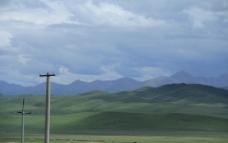 草原的云层图片