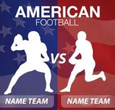 美式足球图片