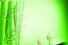 竹子 中国风海报图片