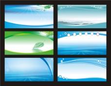 蓝色科技背景设计