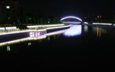 运河 夜色图片