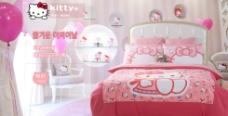 朗綺卡通數碼印花床上四件套床品促銷圖片