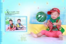 时尚宝宝相册模板设计