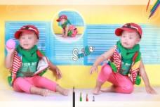 儿童宝宝相册模板设计