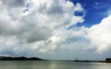 海天相接图片