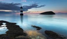 英国 威尔士 彭蒙 灯塔图片