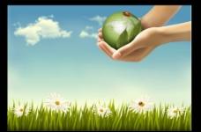 绿色背景图图片
