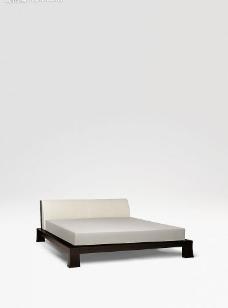 白色 床图片