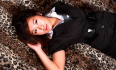 豹纹地毯图片
