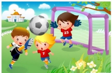 儿童足球运动