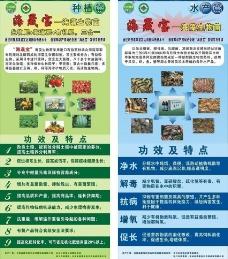 海藻生物菌易拉宝图片