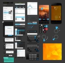 手机界面设计素材
