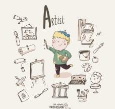 艺术家画家图片