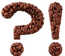 咖啡字体设计