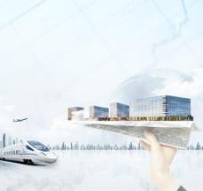 城市cbd 企业愿景图片