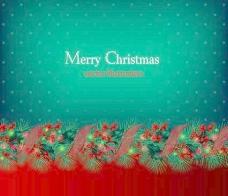 美丽的圣诞背景04矢量