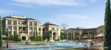 房地产设计效果图psd素材图片