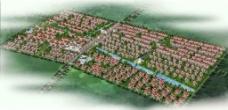 住宅小区效果图图片