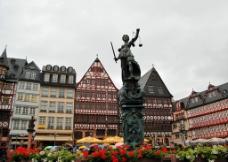法兰克福罗马贝格广场图片