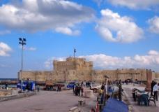埃及 亚历山大 灯塔 遗址图片