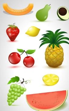 环境设计手绘水果