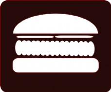 汉堡图标剪贴画