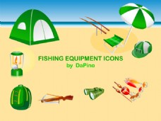 捕鱼设备图标