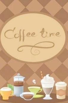 咖啡时间向量2