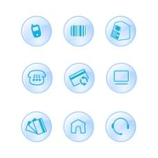 9电子商务矢量图标