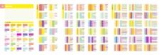 四年夏天的颜色矢量法