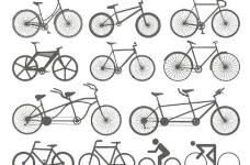 自行车向量