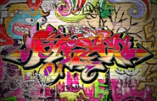 街頭涂鴉街頭文化圖片