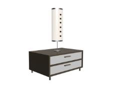 床头柜台灯 柱形台灯