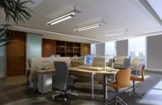 办公室施工图图片