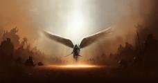 绚丽创意翅膀图片